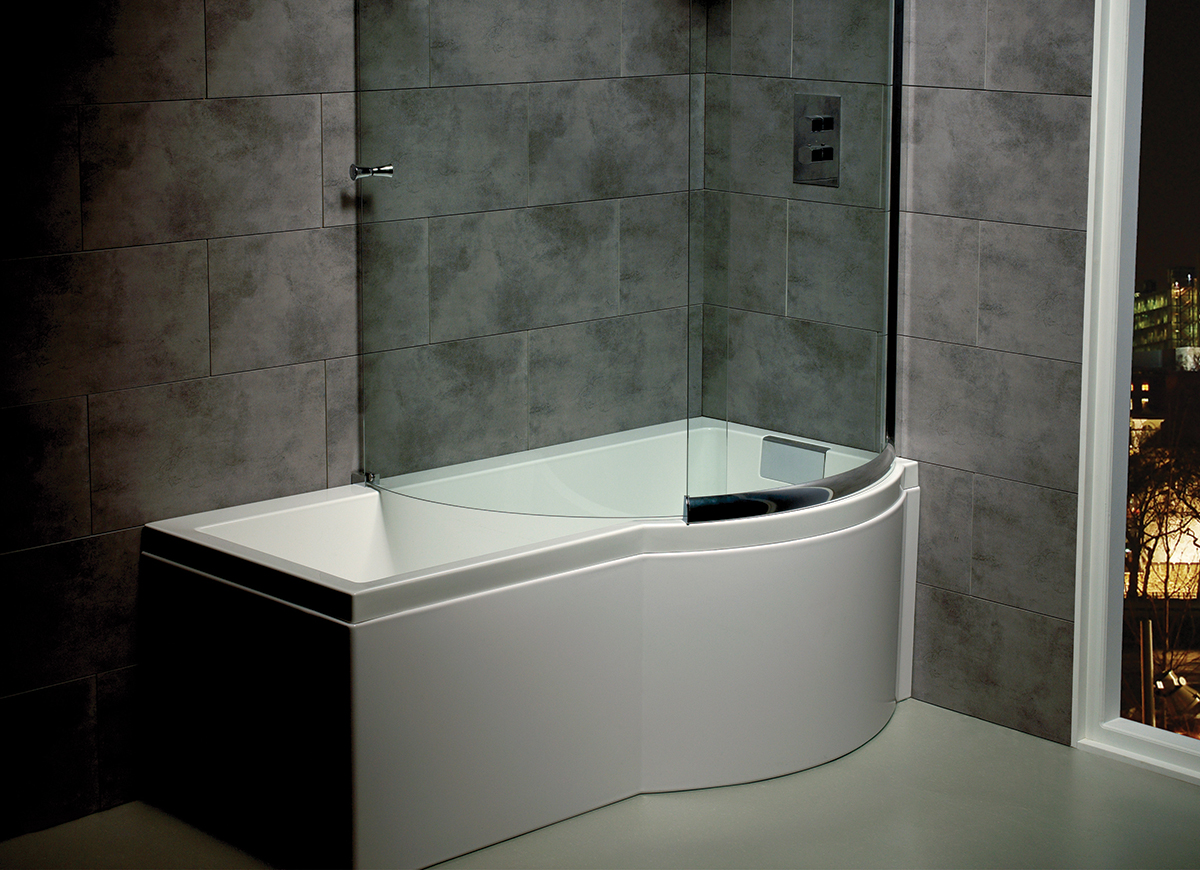 Carronite Shower Bath - Image Cabinets and Shower Mandra-Tavern.Com